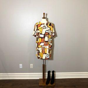 Ali Ro Colorblock Shift Dress